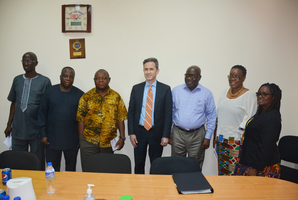 NEC Board of Commissioners meets UN Special Rapporteur on freedom of expression